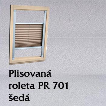 Plisovaná roleta PR 701