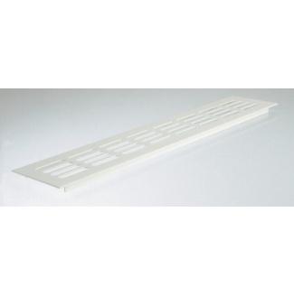Větrací mřížka hliníková bílá 60x1000mm