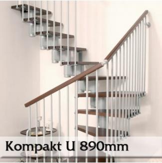Segmentové schodiště Kompakt 89U