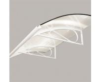 Markýza Robelit Retro 160x90cm - bílá, výplň polykarbonát