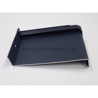 Venkovní okenní hliníkový parapet - antracit RAL 7016