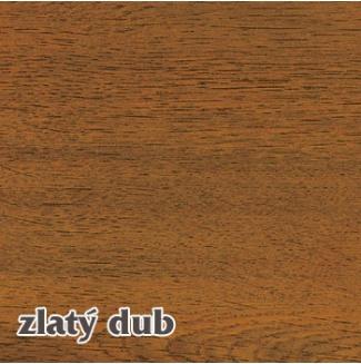 Vnitřní dřevotřískový okenní parapet TOPSET - zlatý dub