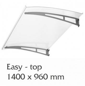 Vchodová stříška Polymer, Easy Top 1400 x 900mm