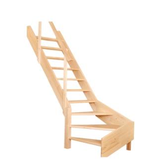 Mlynářské schody se zatočením OMAN TURN