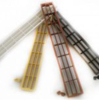 Větrací mřížka plastová 60x450mm
