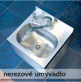 Nerezové umyvadlo