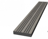 WPC Lemovací lišta nextwood 3D Line - šedá