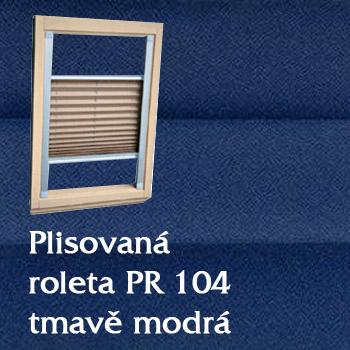 Plisovaná roleta PR 104