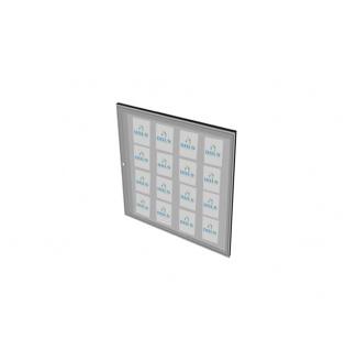 Informační vitrína interiérová 1000x1250mm, 16xA4