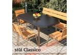 Classico 1600 - zahradní stůl