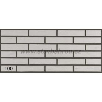 Cihelný obkladový pásek IZOFLEX, č.100 bílý