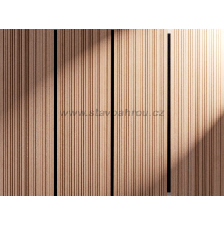 WPC terasa profil HOME světlý dub