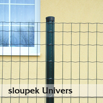 Plotový sloupek Univers 48mm