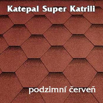 Asfaltový střešní šindel Katepal Katrili