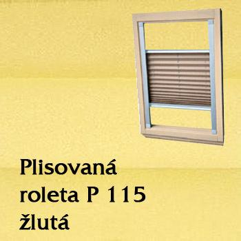 Plisovaná roleta P 115