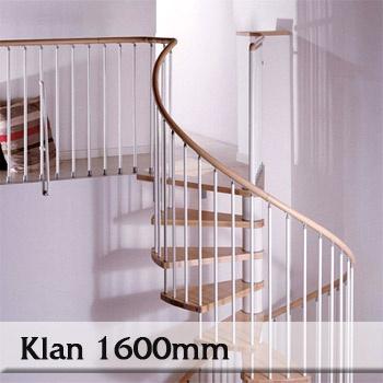 Točité schodiště Klan 1600mm
