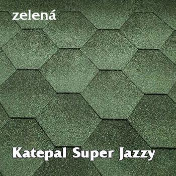 Asfaltový střešní šindel Katepal Jazzy