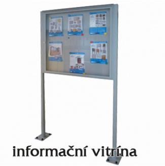 Informační vitrína 8xA4