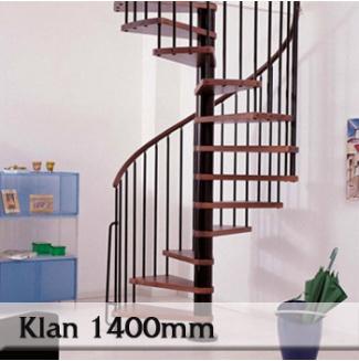 Točité schodiště Klan 1400mm