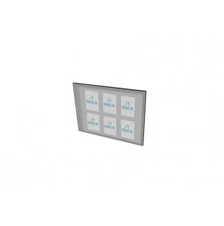 Informační vitrína interiérová 900x600mm, 6xA4