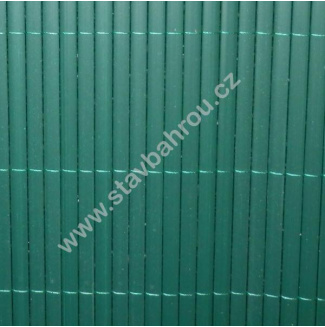 Bambusová rohož zelená výška role 1m