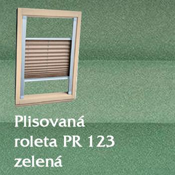 Plisovaná roleta PR 123