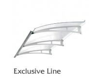 Vchodová stříška Polymer, Exclusive Line 1800x900mm
