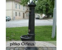 Litinové pítko Orfeus