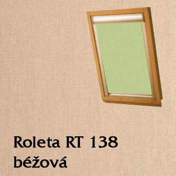Zastiňovací roleta RT 138