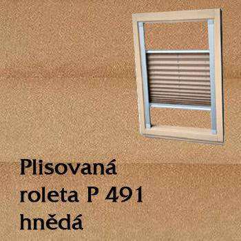Plisovaná roleta P 491