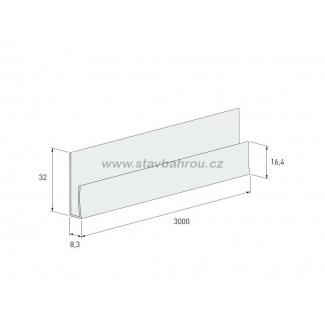 Zakládací profil Solid Brick SZ109