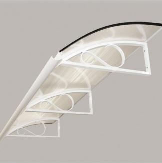 Markýza Robelit Retro 200x90cm - bílá, výplň polykarbonát