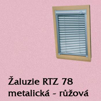 Žaluzie RTZ 78