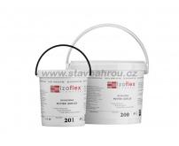 Lepící tmel IZOFLEX, č. 202 šedý 20kg