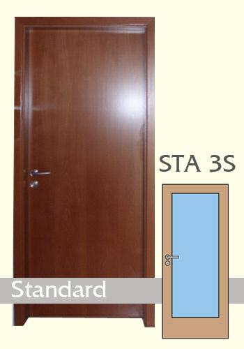 Dýhované dveře Standard 3S