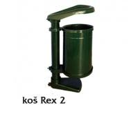 Odpadkový koš REX 2