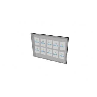 Informační vitrína interiérová 1200x900mm, 10xA4