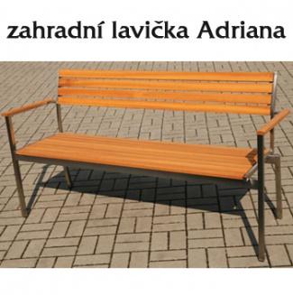 Zahradní lavička Ariana