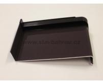 Venkovní okenní hliníkový parapet - tmavě hnědý RAL 8019