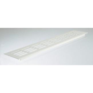 Větrací mřížka hliníková bílá 60x600mm